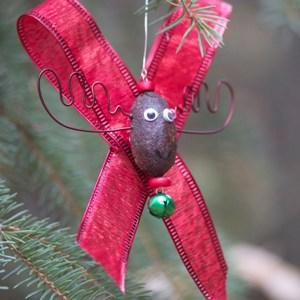 Alaska Moose Nugget Christmas Ornament 2
