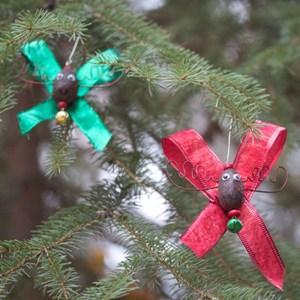 Alaska Moose Nugget Christmas Ornaments 2