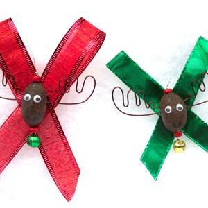Alaska Moose Nugget Christmas Ornaments