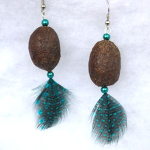 Alaska Moose Nugget Earrings 3