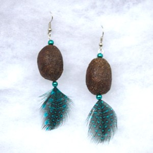 Alaska Moose Nugget Earrings