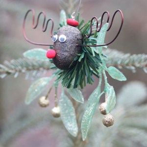 The Alaska Mooseltoe Christmas Ornament 4