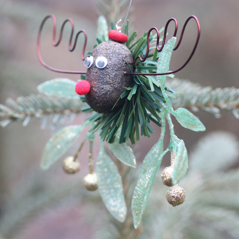 The Alaska Mooseltoe Christmas Ornament 4