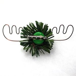 The Alaska Moose Nugget Christmas Pin 4