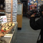 Gift Shop Moose Poop Filming