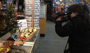Gift Shop Moose Poop Filming
